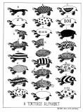 Tortoise alphabet
