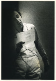 1978  -Opal - reading in overalls, Toronto