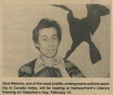 1978 - Opal - bird mural, Toronto