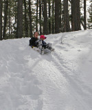 Snow on the Rim -- February 15, 2009