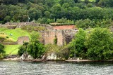 Urquhart Castle from Cruise boat