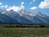 Grand Tetons in Jackson Hole Wyoming