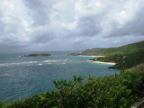 Storm brewing over Mustique
