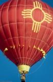 Flight to Balloon Fiesta, Albuquerque, NM, Oct.1998