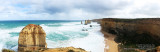 Panorama of Melbourne and the Great Ocean Road