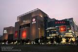 Shinsegae Centum City and Lotte Department Store