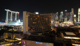 Night view from Pan Pacific