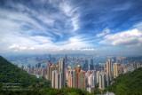 Cirrus over Hong Kong
