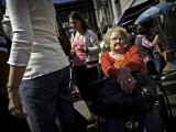 Woman In Wheelchair #12658