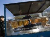 Self Reflected On Empanada Stand