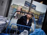 Woman Behind Cart, St.Nicholas Avenue #11980