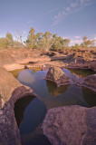 Waterhole at sunset _DSC1930