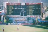 Cricket Scoreboard before the Match