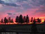 Kentucky (USA) Horse Farm at Sunset.JPG