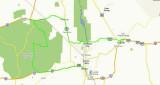 June 21 Mojave Desert  Route Driven & Slideshow Video