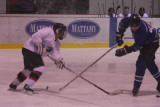 The Mighty Phoques hockey games