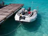 Diver's boat