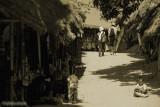 a couple in Karen village