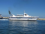 In early July 2012, Balear Jet was introduced onto the Ibiza-Formentera Route - almost certainly diverted from her usual Mallorca-Menorca route as a replacement for the ill-fated Maverick Dos during the high season.