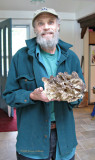 Reed with Hen of the Woods