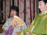 Eiko, dressed in royal robes