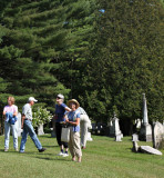 Touring the Strafford Cemetery