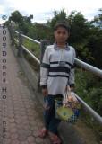 Child Vendor at Lake Batur
