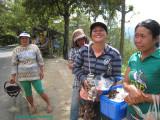 Women Vending Near Mount Batur