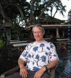 Peter at Tandjung Sari