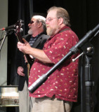 Mark Chute and Paul Kifner Playing for a Benefit