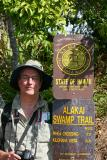 Peter hiking in Kauia'i