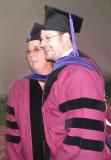 Christian and a fellow graduate