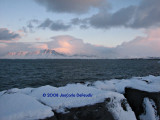 Dusk at Reykjavik Harbor
