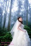 新娘_Fay於凱瑟琳之婚紗照造型紀錄(Makeup by Janice Tsai)