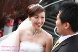 新娘_Sharon於晶宴會館之結婚新秘造型紀錄