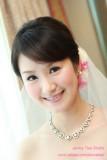 新娘_文於君悅飯店之訂結婚同日新秘造型紀錄