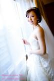 新娘_甄於喜來登飯店之結婚新秘造型紀錄