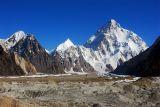 K2 from Upper Baltoro Glacier