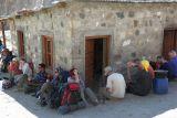 Resting in Jula camp