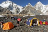 Our camp on Concordia