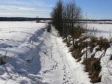 Storån vid Hallsberg. The Big river by Hallsberg