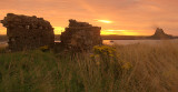 Lindisfarne: the two castles