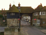 Sandwich,barbican, medieval gateway and castle(!!)