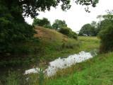 Mileham  Castle  moat.