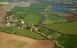 Fotheringhay  Castle  from  the  air.