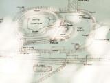 Castle  Bytham ,site plan.