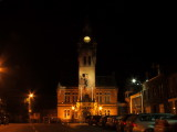 The  old Town  Hall  at  night.