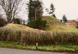 Brompton  Mill  castle  mound