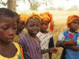 colourful school children