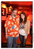 Erin McCarley With Photographer Steve Covault